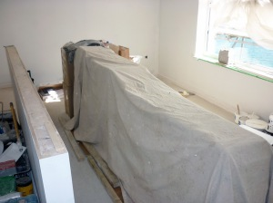 Dust sheeting 1