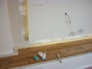 Taping Flooring 10 and repairs